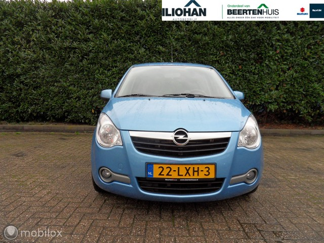 Opel Agila 1.2 Edition Style, 1e eigenaar, unieke km.stand !