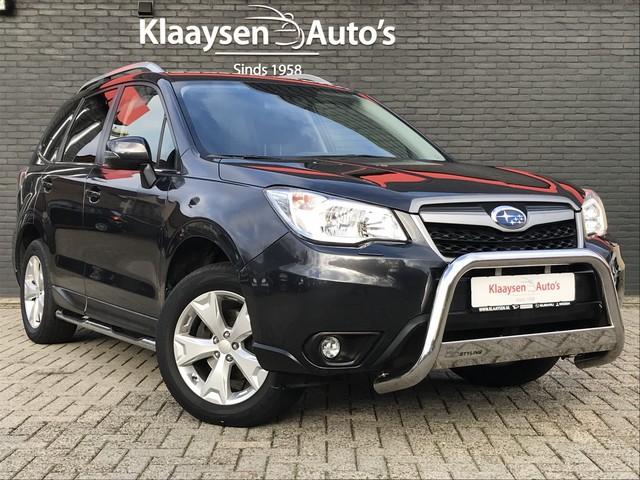 Subaru Forester 2.0 Comfort AWD AUTOMAAT | 1e eigenaar | dealer onderhouden | trekhaak | xenon verlichting | bull side bars | X-mode