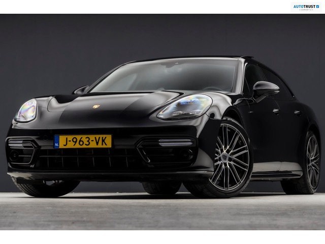 Porsche Panamera Sport Turismo 3.0 4 331PK Automaat (PANORAMADAK, SPORTCHRONO, LUCHTVERING, MASSAGE, STOELKOELING, 4-WIEL STURING)
