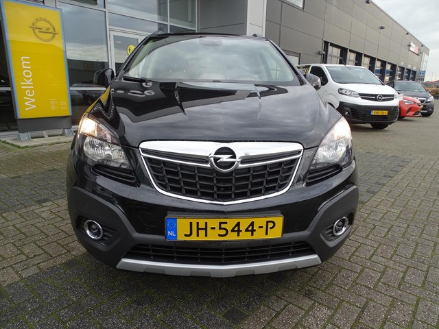 Opel Mokka Cosmo 1.4T 140 pk - navi - trekhaak - camera - clima - dealeronderhouden!