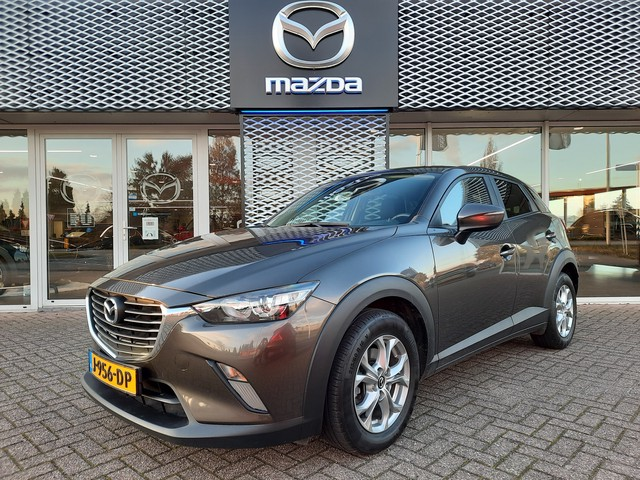 Mazda CX-3 2.0 SkyActiv-G 120 TS MET COMFORT & SAFETY PACK | CRUISE-CONTROLE | CLIMATE-CONTROLE | PARK-ASSIST | NAVIGATIE | STOELVERWARMING