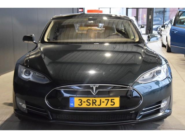 Tesla Model S 85 Base Navigatie Panoramadak MARGE BTW VRIJ!! Rijklaarprijs Inruil Mogelijk!