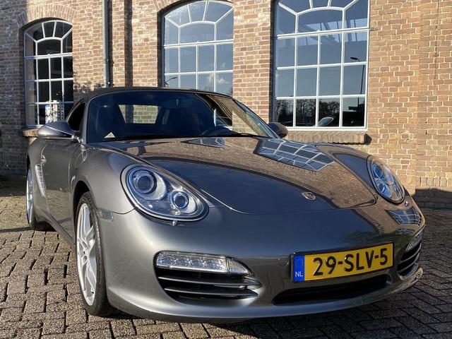 Porsche Boxster 2.9 *Facelift* 256 PK, 2009, Navigatie, TEL Bluetooth, AUX, LED, Leder, Stoelverwarming, PDC