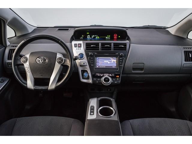 Toyota Prius Wagon 1.8 Aspiration Aut. 7 pers. Trekhaak  Camera  Panoramadak  Full map navigatie  Cruise control