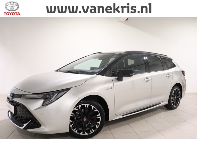 Toyota Corolla Touring Sports 1.8 Hybrid GR-Sport, Zwarte LM velgen, Sensoren, Half leder Sportstoelen en Stuur