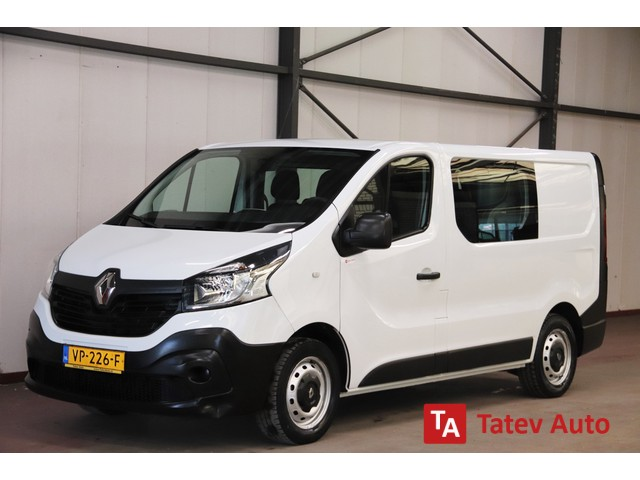 Renault Trafic 1.6 dCi DUBBEL CABINE AIRCO TREKHAAK