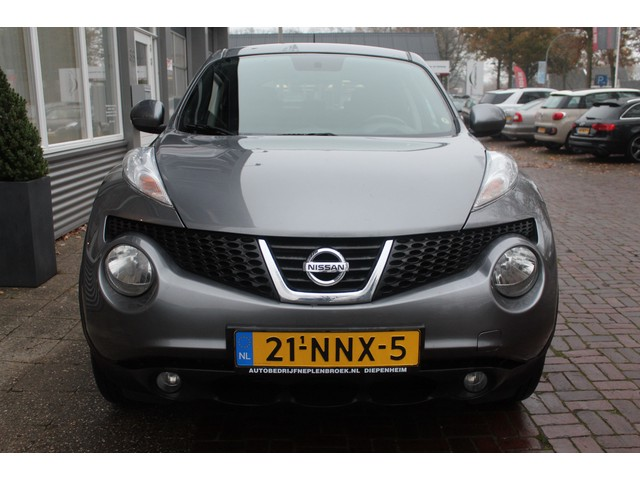 Nissan Juke 1.6 Acenta Hoge Zit Airco Clima,16inch,Cruise Bj 2010 km 87.000 Dealer onderhouden