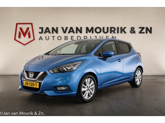 Nissan Micra 1.0 IG-T N-Connecta | NL-AUTO | NAVI | APPLE ANDROID | CAMERA
