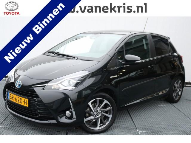 Toyota Yaris 1.5 Hybrid Premium, Panodak, Half leder!