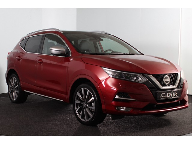 Nissan QASHQAI 1.3 160PK DIG-T Tekna + Dynamic Automaat | Pano | Leer | Adapt. Cruise | Stoelverw. | NAV | ECC | PDC | LM | Bose