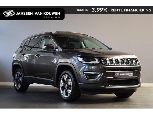 Jeep Compass 1.4 MultiAir 4x4 Aut Limited | Schuifdak | Xenon
