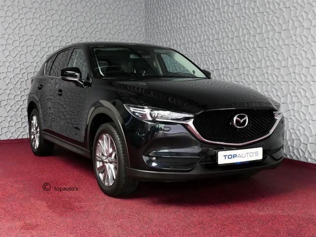 Mazda CX-5 2.0 SkyActiv-G 165 LUXURY LEER BOSE 19''LMV HEAD-UP CAMERA FULL LED NAVI STOEL STUUR VERW. STOELKOELING DIG.DASH