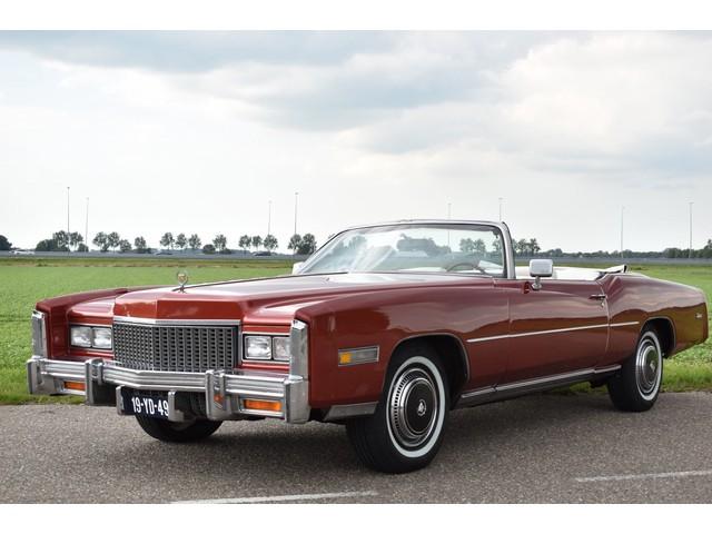 Cadillac Eldorado CONVERTIBLE 8.2 V8 AUT! CABRIOLET