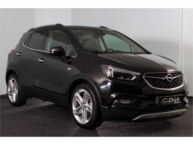 Opel Mokka X 1.4 Turbo 140PK Innovation Automaat | ECC | Leer | Cruise | NAV | PDC | Achteruitrijcamera | Stoelverw. | Zonnedak | LM |