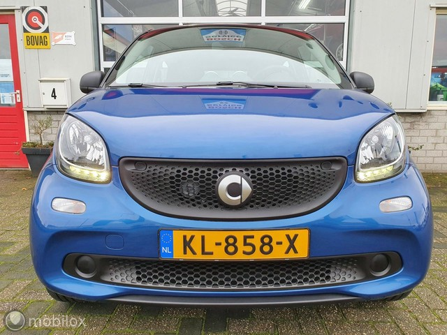 Smart Forfour 1.0 Pure | Airco | Cruise | Bluetooth | Isofix |