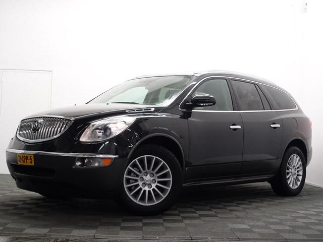 Buick Enclave 3.6 Premium 279pk LPG Benzine Automaat- Panodak, Leer, Camera, DVD, Memory, 7 Pers