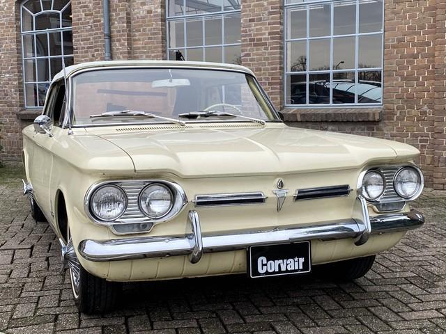 Chevrolet Corvair Cabriolet 1962 Electrisch dak! Automaat, Lederen bekleding
