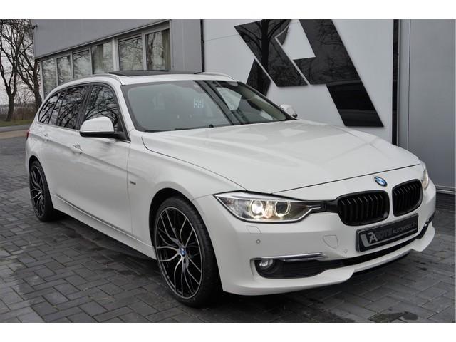 BMW 3 Serie Touring 320d Aut Luxury Pano|Headup|Leer|Keyles Parelmoer!