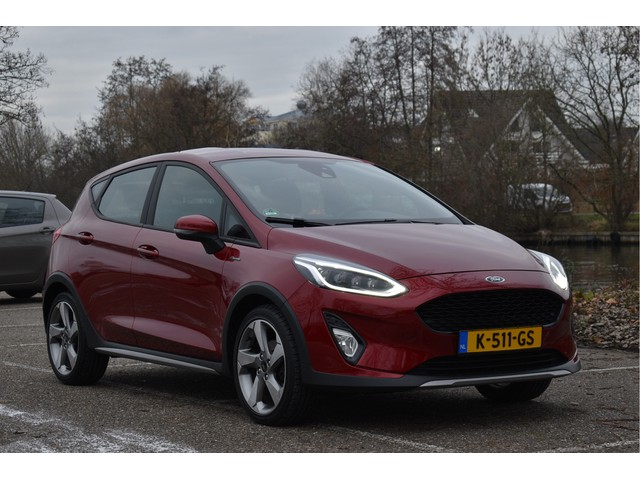 Ford Fiesta 1.0 EcoBoost Active FULL LED, 3D KNIPPERS, B&O, CAMERA, NAVI, STOELVERW, CRUISE CONTR, NAP