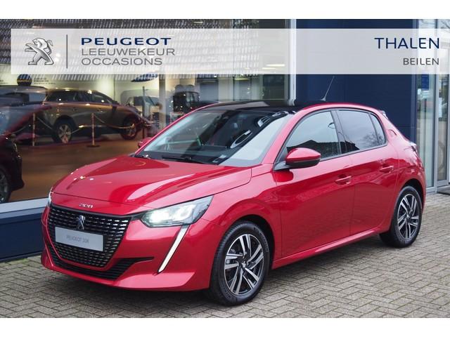 Peugeot 208 ALLURE 100PK MET NAVI STOELVERWARMING CAMERA - ZEER COMPLETE DEMO MET € 4500,- DEMOVOORDEEL