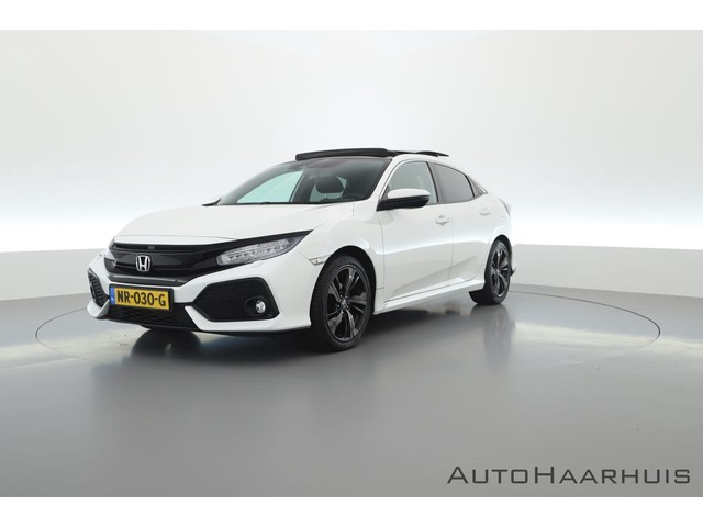 Honda Civic 1.0 i-VTEC Executive Automaat | Pano | Navi | Camera | Leder | ACC | Apple CarPlay
