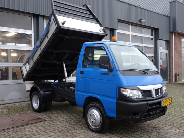 Piaggio Porter 1.3 Kipper Maxxi Lang Kipper 1160 kg laadvermogen Euro 5 benzine lage belasting tarief en mag binnenstad in