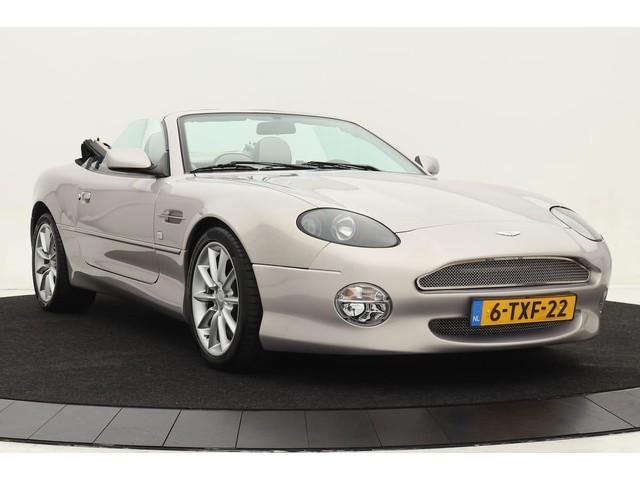 Aston Martin DB7 5.9 V12 Volante Aut | Carbon inleg | Premium audio | Geheel Aston dealer onderhouden | 15.000 mls & complete historie aanwezig!