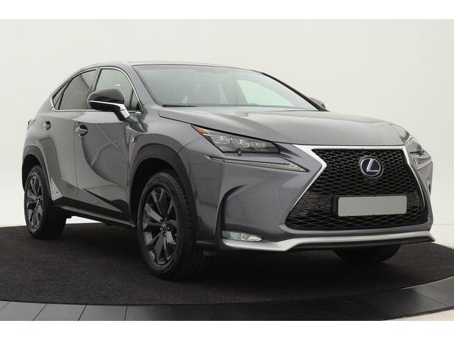 Lexus NX 300h 4-WD F-Sport Line | Panoramadak | Adaptive cruise | Full LED | Elektr. Achterklep | Camera | Keyless | Mercury Grey