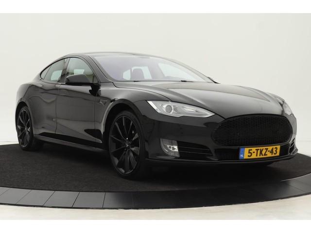 Tesla Model S 85 *All-in prijs* | Alcantara hemel |  Turbine velgen | Nappa leder | Wood Decor | Camera