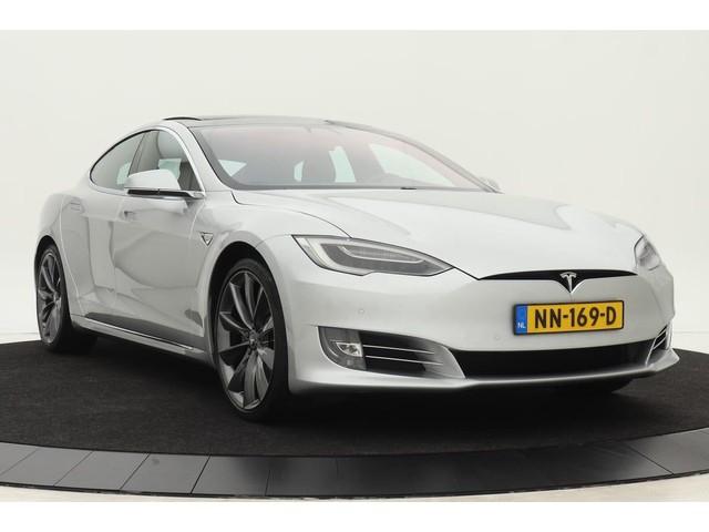 Tesla Model S 90D *Excl. BTW*  | Autopilot | Panoramadak | Luchtvering | Carbon | Stoelventilatie | Turbine velgen | Leder