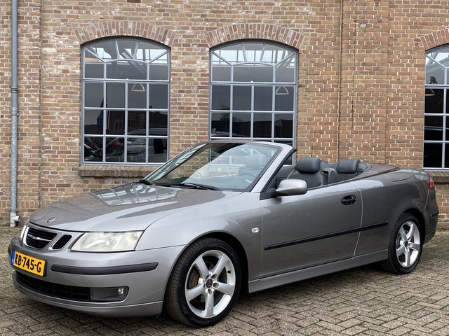 Saab 9-3 Cabrio 1.8t Vector *Automaat* Leder, Youngtimer, ECC Clima, 17'' LMV, Cruise control, PDC