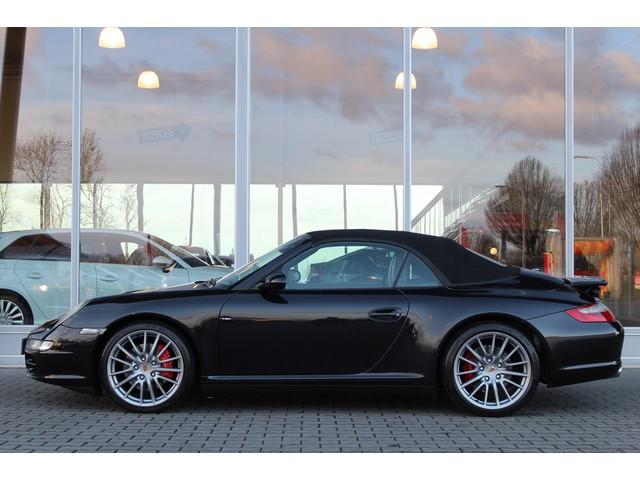 Porsche 911 Cabrio 3.8 Carrera 4S 355PK | 100% onderhouden | Bi-Xenon | BOSE Sound |  Elek. verstelbare voorstoelen |  Lederen bekleding | N