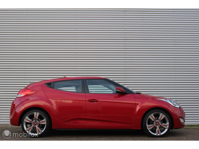 Hyundai Veloster 1.6 GDI i-Catcher  LED LEDER STOELVERW. CAMERA NAVI BLUETOOTH PDC!
