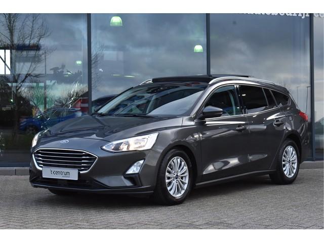 Ford Focus Wagon 1.0 EcoBoost 125PK Titanium Automaat, Panoramadak, Navigatie, Ad. Cruise Control