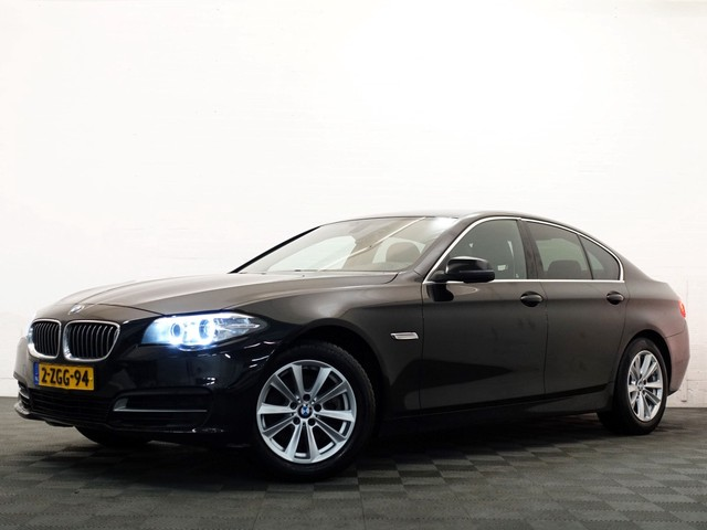 BMW 5 Serie 520D Sedan 191pk HIGH EXECUTIVE AUT8. Sportleer, Navi, Camera, Xenon