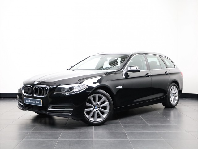 BMW 5 Serie Touring 535xd Executive Luchtvering, 360° Camera, Softclose, Dakota sport leder, Spoor-assist, Trekhaak