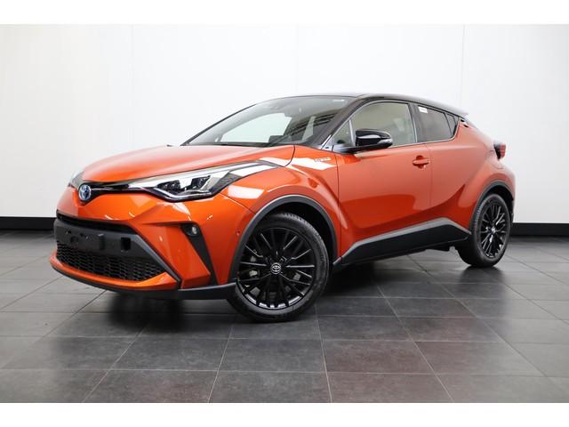 Toyota C-HR 2.0 Hybrid Orange Edition Navigatie, JBL Audio, DAB+, LED, PDC, Winterpakket