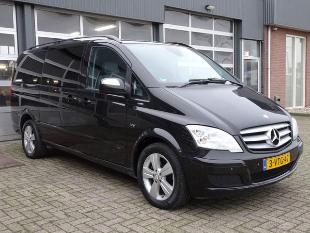Mercedes-Benz Viano 3.0 CDI 225pk Ambiente Lang DC Bpm vrij Automaat Navigatie  Parkeerhulp Trekhaak Dubbele cabine