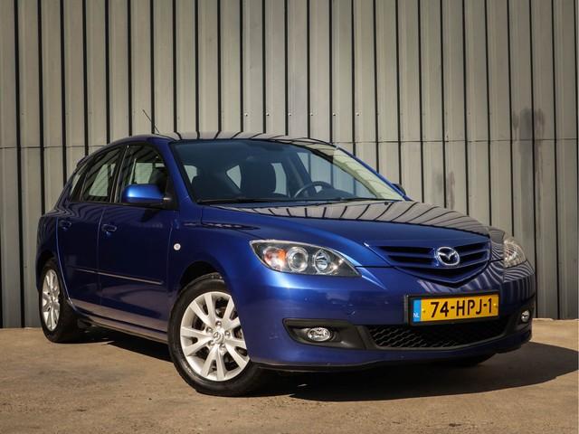 Mazda 3 1.6 S-VT Executive, 1 Ste-Eigenaar, Airco, L.M.Velgen, Dealer-Onderh, Trekhaak, NL-Auto