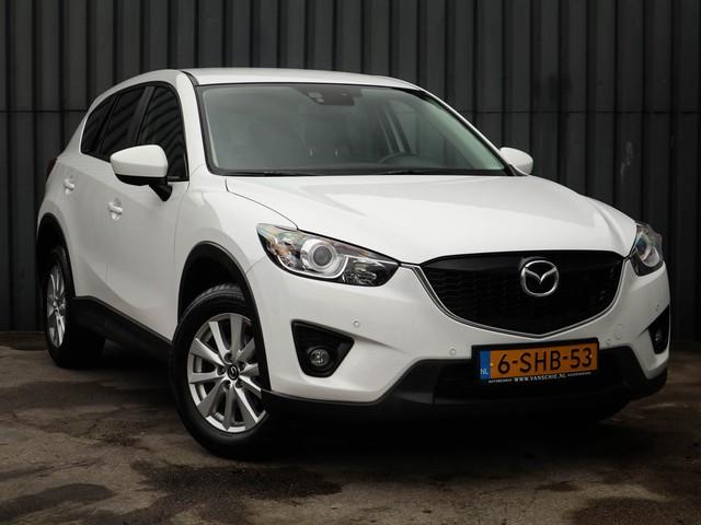 Mazda CX-5 2.2D Skylease, 1-Ste-Eigenaar, Navigatie, Mazda-Dealer-Onderh, Parkeer-Sensoren V+A, Trekhaak, NL-Auto