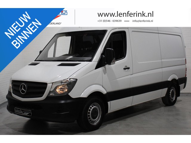 Mercedes-Benz Sprinter 314 CDI 143 pk L2H2 Airco, Laadruimte Pakket Bluetooth, Bijrijdersbank