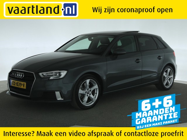 Audi A3 SPORTBACK 2.0 TFSI Quattro Sport 190Pk Aut. [Panoramadak Leder Led]