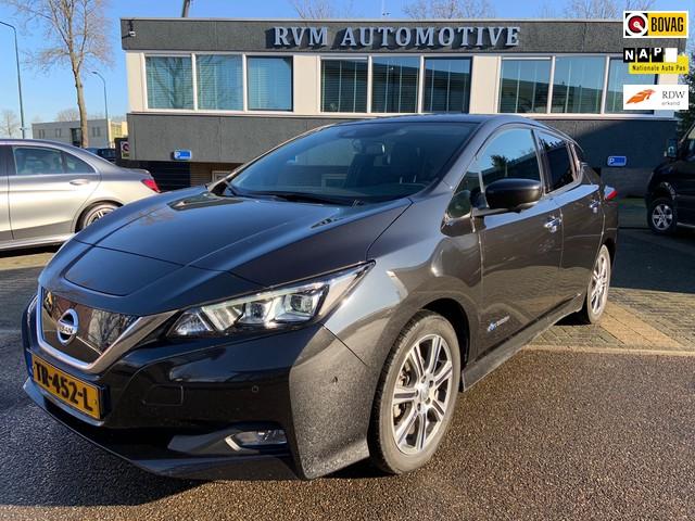 Nissan Leaf Tekna 40 kWh *EX. BTW* | LOCKDOWN ONLINE OPRUIMING | ADAPTIEVE CRUISE | NAVIGATIE | LEDER |