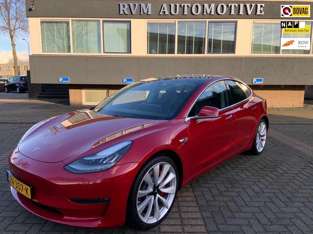 Tesla Model 3 Performance AWD Long Range *EX. BTW*| 4% bijtelling! | ORIG. NL | AUTOPILOT |