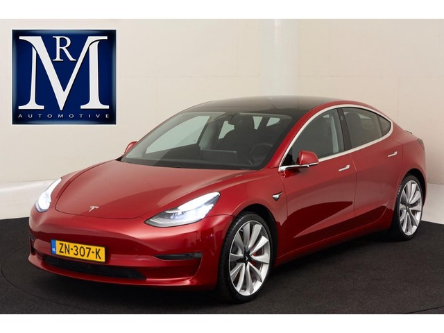 Tesla Model 3 *57.326,- incl. VAT taxes btw* Performance AWD | 4% bijtelling! | ORIG. NL | AUTOPILOT |