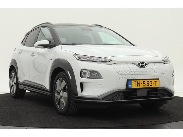 Hyundai Kona EV Premium 64 kWh *Excl. BTW* | 4% bijtelling | Stoelventilatie | Head-up | Navigatie | Full LED | Camera | Keyless