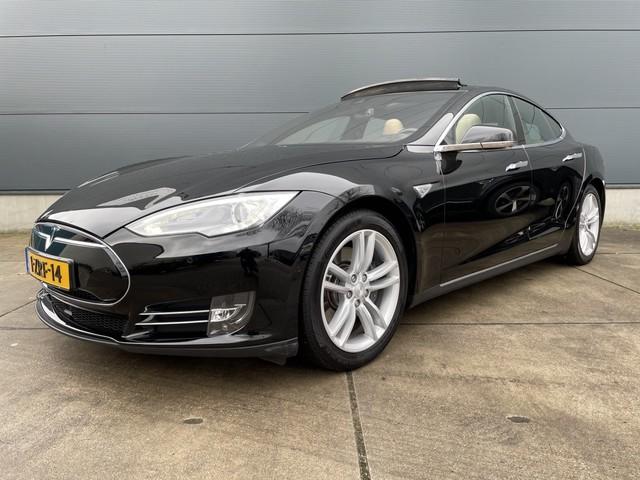 Tesla Model S 85 PANORAMA, LEDER, AUTOPILOT, NL AUTO, 1E EIGENAAR