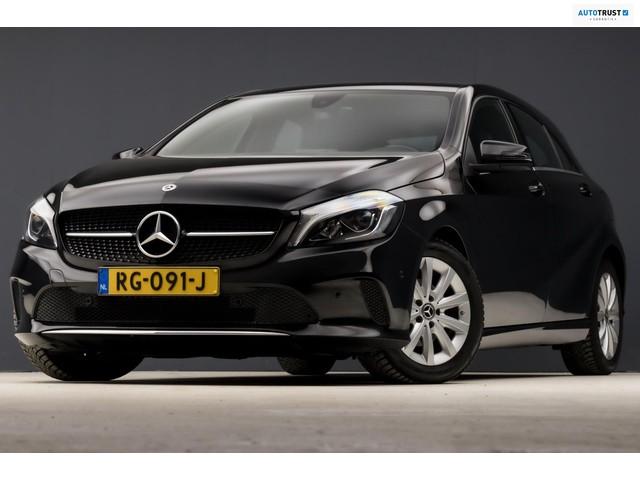 Mercedes-Benz A-Klasse 180 d Edition Sport Automaat (FACELIFT, GROOT NAVI, CAMERA, STOELVERW, ZWART HEMEL, FLIPPERS, SPORTSTOELEN)