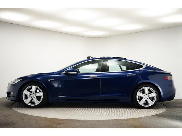 Tesla Model S 75D 334PK Base Pano Schuifdak Auto-Pilot 4% Leer Camera