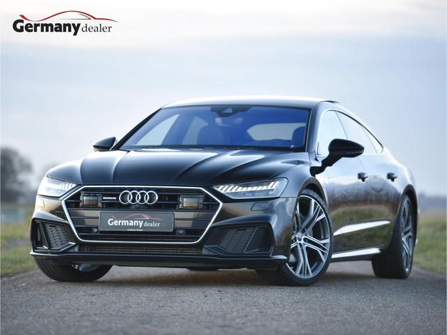 Audi A7 Sportback 50TDI 286pk Quattro S-Line Black Optic Lucht B&O HighEnd Pano Softclose Standkachel HUD ACC